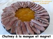 Chutney à la mangue et magret Index P1030451