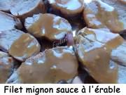 Filet mignon sauce à l'érable Index DSCN3280
