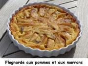 Flognarde aux pommes et aux marrons Index P1010991