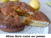 Gâteau Marie-Louise aux pommes Index P1000808