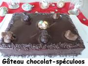 Gâteau de Pâques chocolat-spéculoos Index P1020968