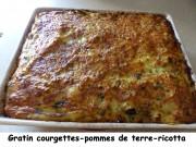 Gratin courgettes-pommes de terre-ricotta Index P1040627