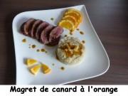 Magret de canard à l'orange Index P1020630