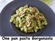 One pan pasta Gorgonzola Index P1030565