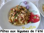 Pâtes aux légumes de l'été Index P1030648
