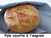 Pain cocotte à l'engrain Index P1010636
