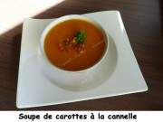 Soupe de carottes à la cannelle Index P1010640