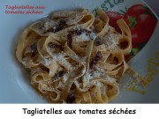 Tagliatelles aux tomates séchées Index DSCN4445
