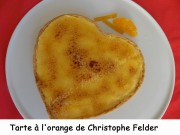Tarte à l'orange de Christophe Felder Index DSCN2595
