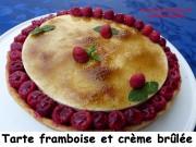 Tarte framboise et crème brûlée Index P1040578
