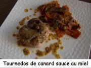 Tournedos de canard sauce au miel Index DSCN4321