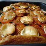 Croque-Madame champignons et jambon cru