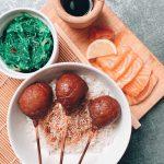 Pad thaï végétarien au seitan pané