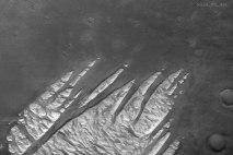White Rock Fingers on Mars