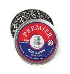 LUM77 : Crosman Premier Pellets: Crosman Premier Domed Field Target .177 P 10.5  gr 500 count