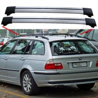 BMW 3 Series E46 From 04.98 Estate Aero Cross Bars Roof ...