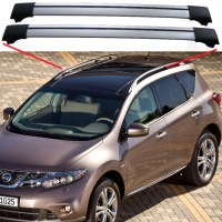 Nissan Murano Z51 Roof Rack Cross Bars | eBay