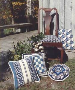 Blue & White patterns from the cross-point Collection