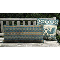Long Oahu Back Pillow 01 with Shalimar 01 Pillow