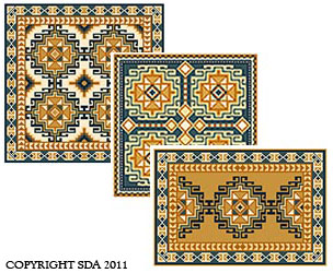 Soumak 03 colors in the cross-point Collection
