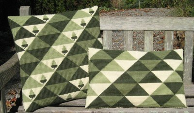 Triangles in 2 sizes