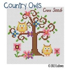Needlepoint Stitches Stitch Diagrams 1982 Jeep Cj Wiring Diagram Country Owls  Cross