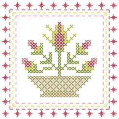 Needlepoint Stitches Stitch Diagrams Simple Wan Diagram Free Chart From Cross It