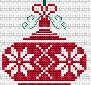 More Holiday-Themed Cross-Stitch Patterns