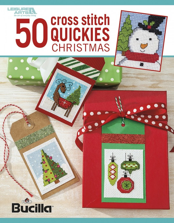 50 cross stitch quickies christmas book review