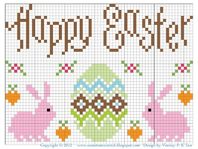 Stitch This Sweet Design to Celebrate Easter
