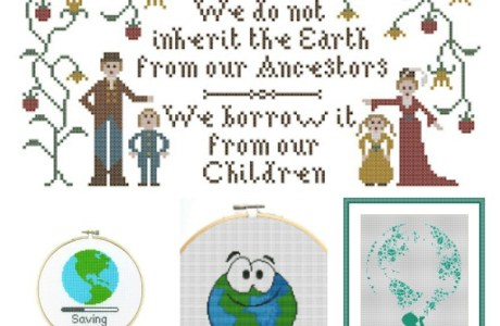 Stitch the Planet for Earth Day