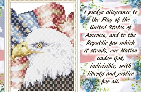 Check out this Amazing Eagle Cross Stitch Pattern