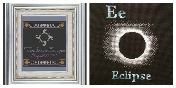 Cross Stitch Projects to Celebrate the Eclipse