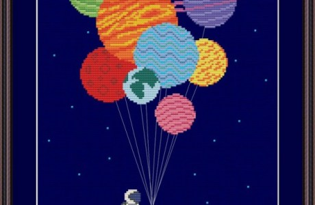 Stitch the Solar System with this Great Pattern