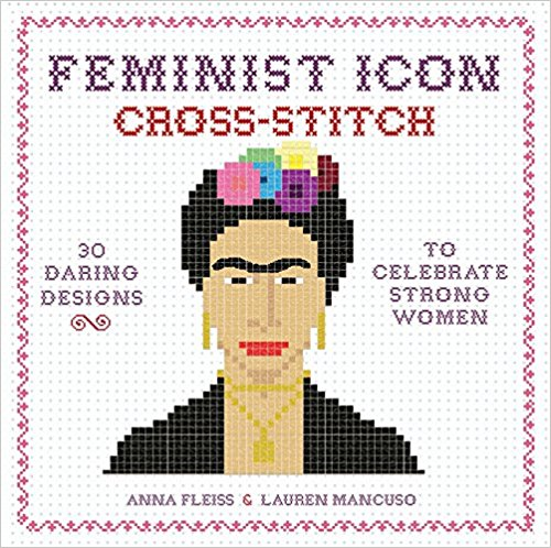 feminist icon cross stitch
