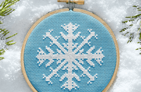 Stitch a Snowflake, Because Winter is Coming