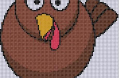 One More Turkey to Cross Stitch