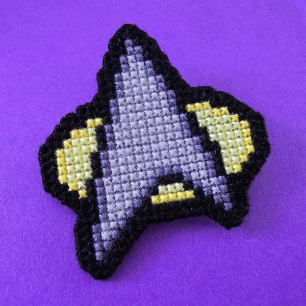 star trek insignia pin