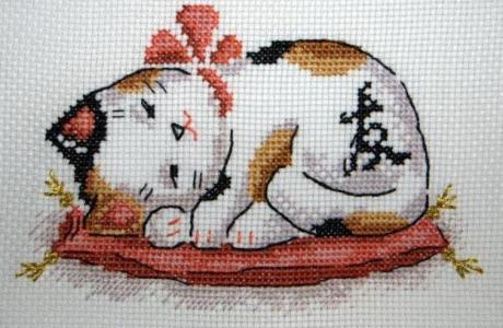 Stitch a Cat for Prosperity