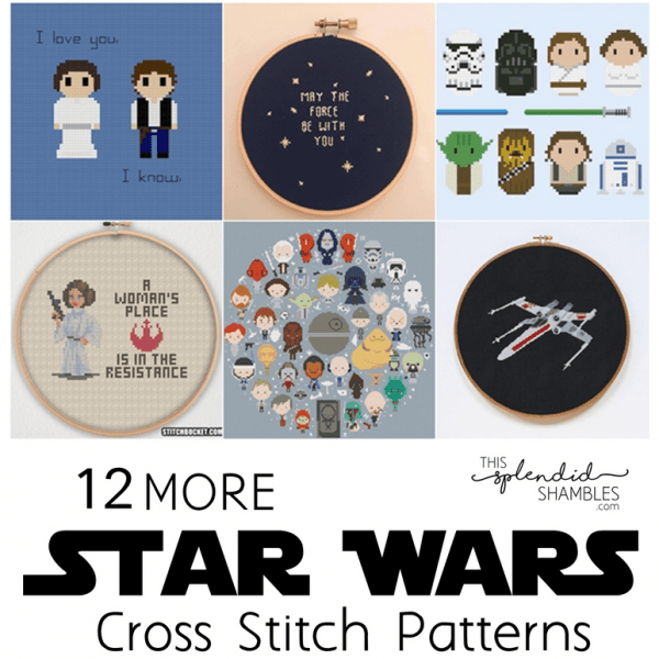star wars cross stitch patterns