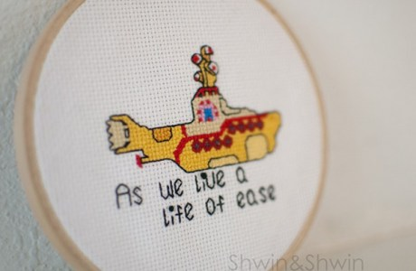 Stitch a Yellow Submarine