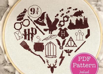 Stitch Some Harry Potter Love
