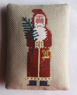 how to make a cross stitch ornament