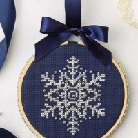 A Snowflake to Stitch for the Start of Winter