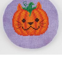 Pumpkit Cross Stitch Pattern