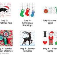 25 Little Christmas Patterns to Cross-Stitch
