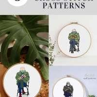 Bernie Sanders Cross-Stitch Patterns
