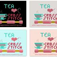 Tea, Love and Cross Stitch