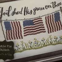 Patriotic Cross Stitch for Memorial Day