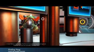 Gek notes that you are not a member of No Man Sky's three races/species. What are you?